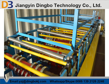 1250mm Feeding width Corrugated Roll Forming Machine  for Simple House