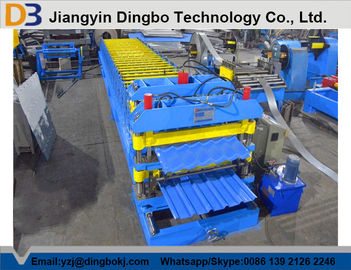 High Performance Steel Tile Forming Machinery For Big Span Steel Structure
