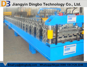 চীন European Roof Panel Roll Forming Machine With Colore Steel Plate সরবরাহকারী