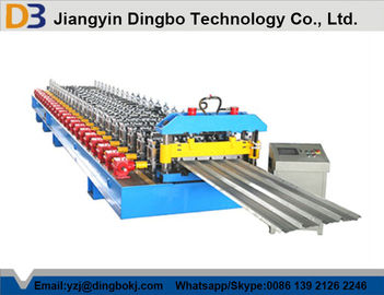 Automatic PLC Control Customized/Trapezoidal Roof Panel roll forming Machine With 5 Ton Decoiler