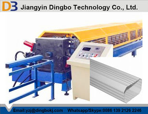 Low Noise Downspout Forming Machine Down Pipe Roll Forming Machine 380V / 50Hz Power