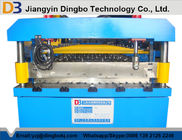 চীন Color Steel Corrugated Iron Rolling Machine Touch Screen CE কারখানা