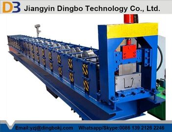 চীন Low Noise 5.5kw Standard Gutter Roll Forming Machine 15 Groups Roller পরিবেশক